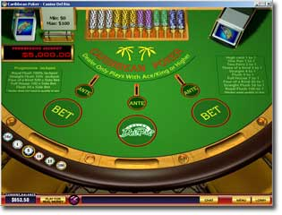casino online ohne download caribbean stud