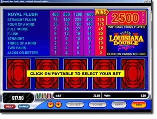 Download Louisiana Double Poker